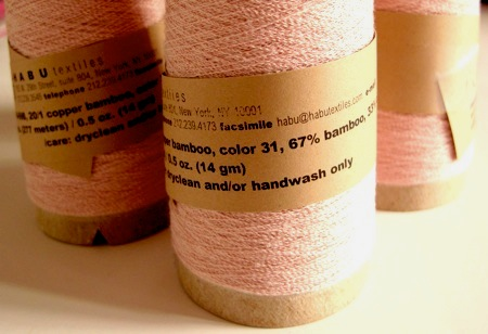 20/1 Copper bamboo - Soft pink
