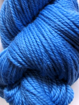 Brigantia Luxury Aran - Hyacinth blue