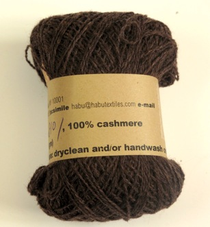 Chocolate Brown cashmere