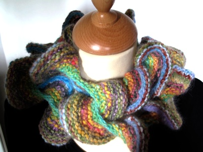 Curly NORO Kochoran scarf - Pattern only