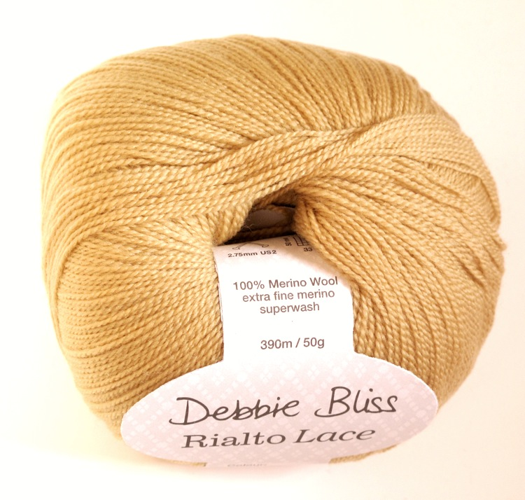 Debbie Bliss Rialto lace - Gold
