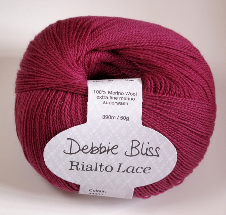 Debbie Bliss Rialto lace - Raspberry