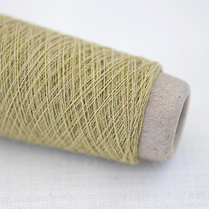 Habu Textiles Wool with stainless steel - Butter col 4