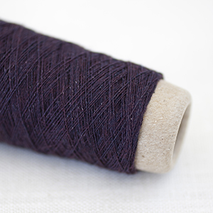 Habu wool stainless steel - Bordeaux Col 49