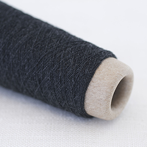 Habu wool stainless steel - Charcoal col 35