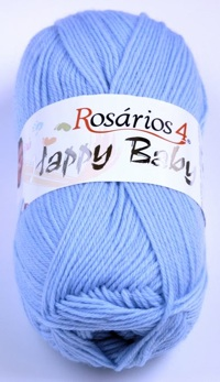 Happy baby - Cornflower blue