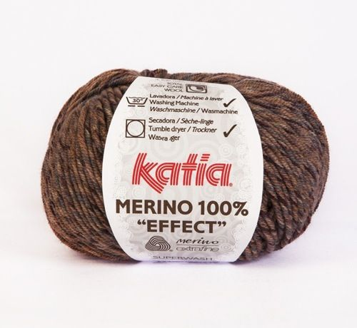 Katia 100% Merino effect - Blend of Browns