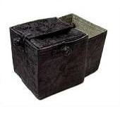 Knit out box - Black silk