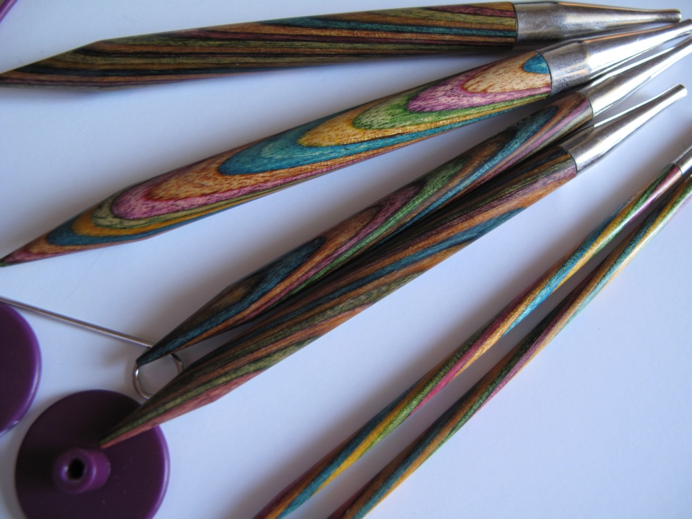 Knitpro symfonie interchangeable circular needles