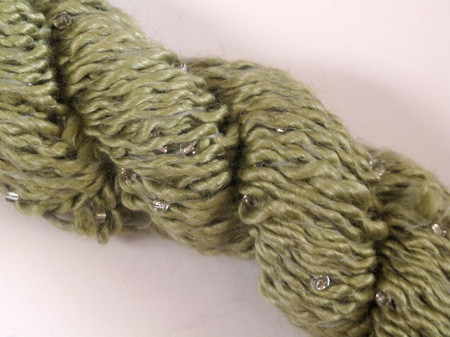 Louisa Harding Grace Hand beaded - Lime Was 8.50 now 5.50