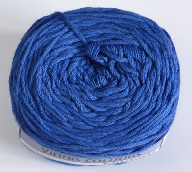 Nikkim cotton - Deep Blue