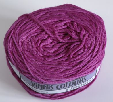 Nikkim cotton - Fuschia Pink