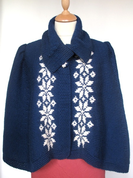 Snowflake cape kit pattern