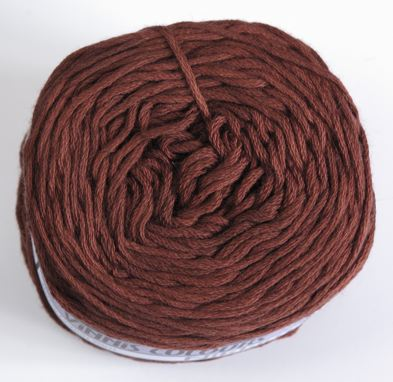 Vinnis Nikkim cotton - Mahogany brown