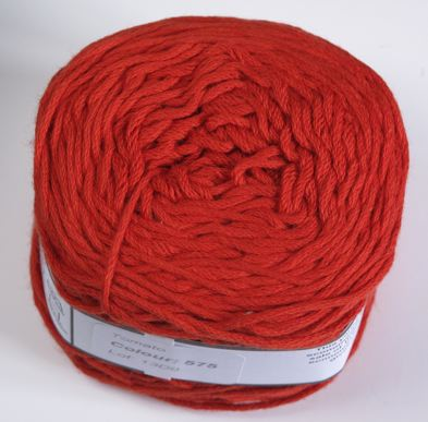 Vinnis Nikkim cotton - Tomato red