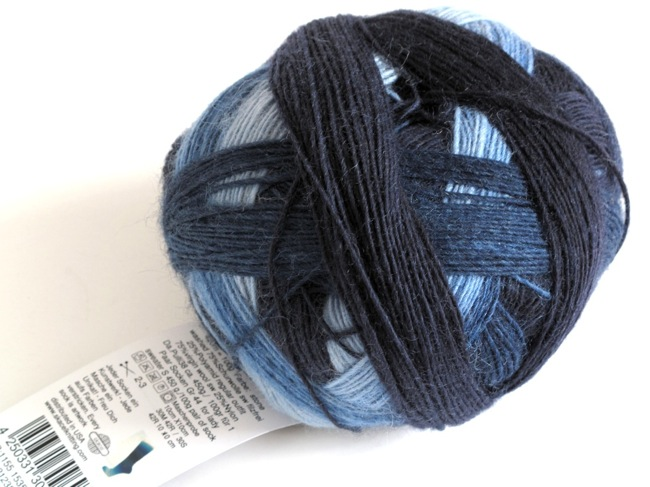 Zauberball sock yarn.